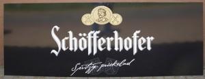 Beschriftungen Blomberg Medein - Schöfferhofer Thekenplatte