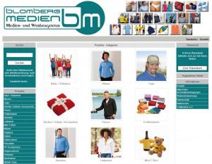 Blomberg-Medien-Textilshop
